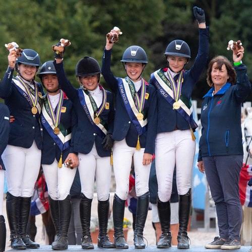 Team GB Scoop Gold at European Pony Championships