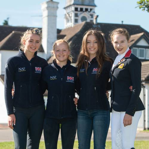 Home Comforts for Team GB at European Pony Championships