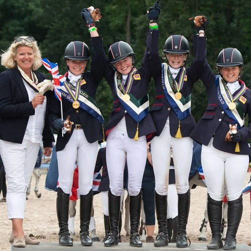 Team GB Claim Gold on Final Day of European Pony Championships